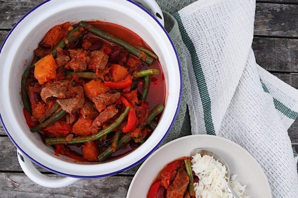 Beef and Pumpkin Stew image